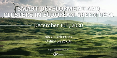 Smart development and Clusters in European Green Deal tickets