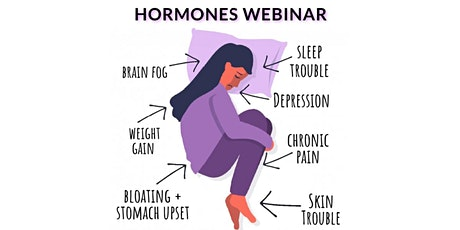 2021 - Let's Deal with Hormones & Stress - Live Webinar tickets
