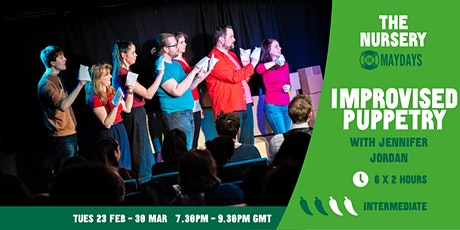Online Puppetry Improv Course tickets