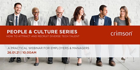 People & culture series - How to attract and recruit diverse tech talent tickets