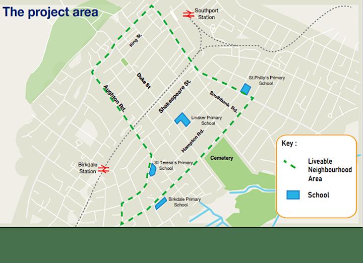 Sustrans Southport Liveable Neighbourhood Workshop 1 for Businesses image