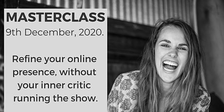 Refine your online presence, without your inner critic running the show. tickets