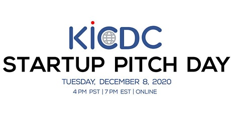 2020 KICDC STARTUP PITCH DAY tickets