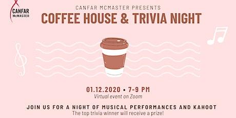 CANFAR Presents: COFFEEHOUSE tickets