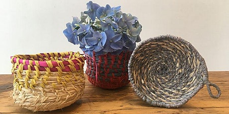 Basketweaving - Coiling with Raffia on Zoom! tickets