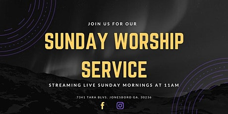Sunday Morning Worship Service Nov. 29th tickets