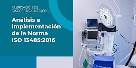 Análisis e Implementación de la Norma ISO 13485:2016 entradas