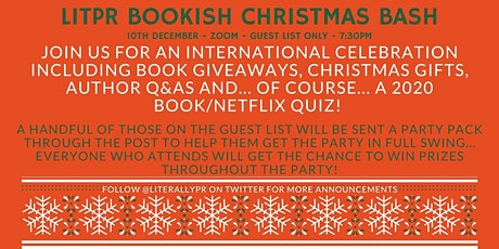 LitPR Bookish Christmas Party tickets
