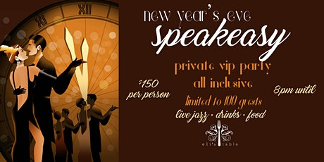 New Year's Eve Speakeasy VIP Party tickets