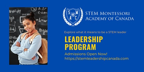 STEM National Leadership Program-Virtual Parent Information Session & Tour tickets