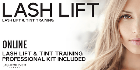 Lash Lift & Tint Training with Lashforever Canada