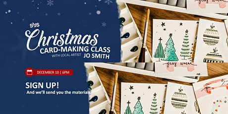 Christmas Card-Making Class | Dec 10| tickets