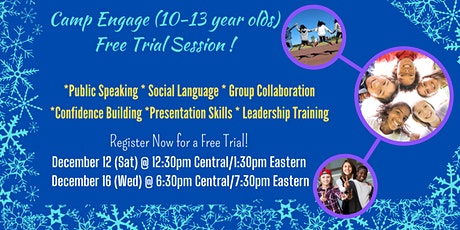 Free Trial PUBLIC SPEAKING/COMMUNICATION COACHING CAMP[Kids 10-13 years] tickets