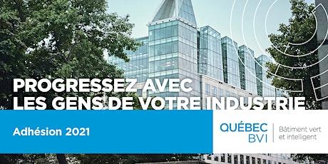 Adhésion 2021 - Québec BVI billets