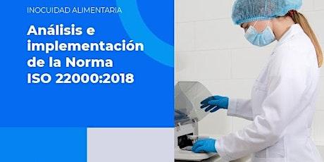 Análisis e Implementación de la Norma ISO ´22000:2018 boletos