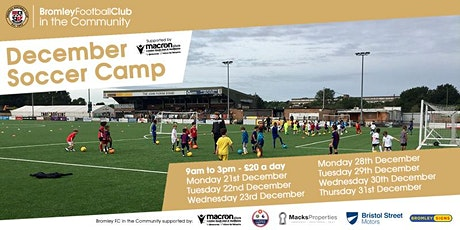 December Soccer Camp 2020 tickets