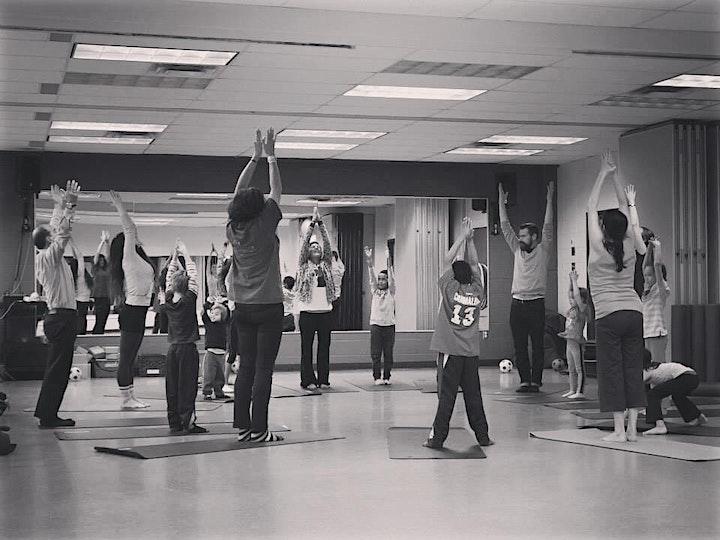 Atelier Yoga +danse Parent enfant   Yoga+dance Parent & child workshop image