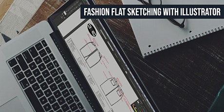 Fashion Flat Sketching with Illustrator (LIVE ONLINE) tickets