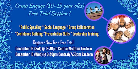 Free Trial PUBLIC SPEAKING/COMMUNICATION COACHING CAMP [Kids  10-13 years] tickets