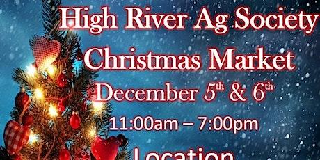 High River Ag Society Christmas Market tickets