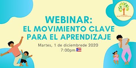 Webinar: El movimiento clave para el aprendizaje entradas