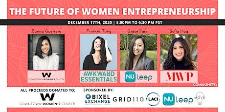 The Future of Women Entrepreneurship tickets