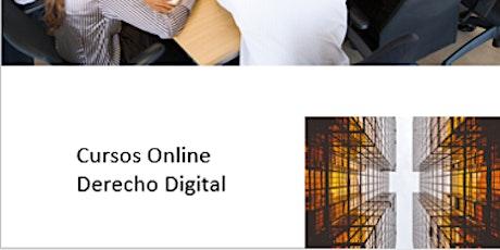 Curso Online Derecho Digital tickets