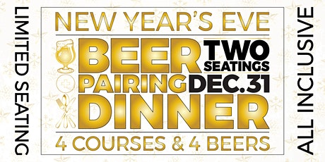 New Year's Eve Beer Pairing Dinner 2020 tickets