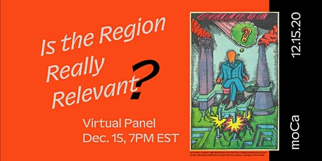 Is The Region Really Relevant? tickets