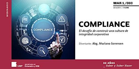 COMPLIANCE: El desafío de construir una cultura de integridad corporativa entradas