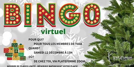 Bingo de Noël billets