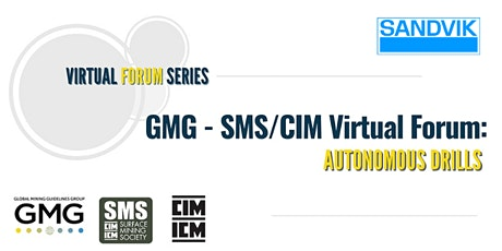 GMG - SMS/CIM Virtual Forum: Autonomous Drills tickets