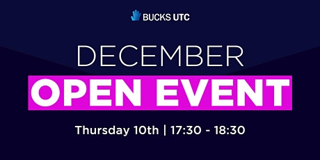 Bucks UTC Virtual Open Event (December) tickets