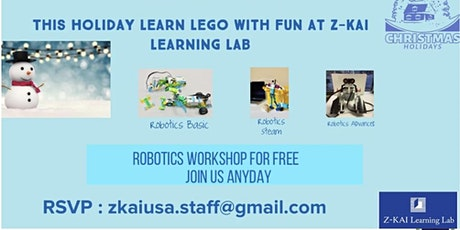 Free STEM Robotics Workshop tickets