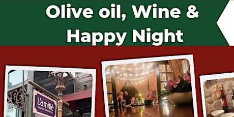 Olive Oil, Wine & Happy Night ingressos