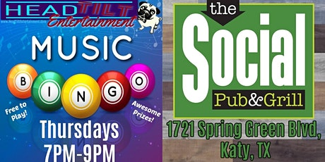 Music Bingo at The Social Pub & Grill tickets