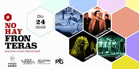 #NoHayFronteras - Concierto Virtual Internacional entradas
