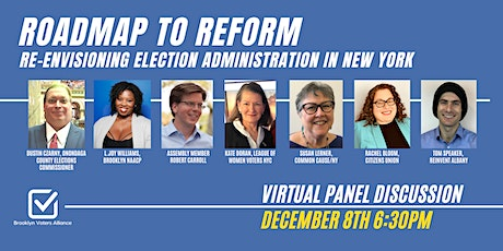 Roadmap to Reform: Re-envisioning Election Administration in New York State tickets