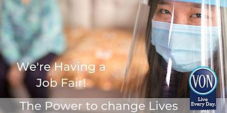 VON Personal Support Worker Virtual Job Fair 2020 tickets
