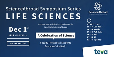 ScienceAbroad Life Sciences Symposium 2020