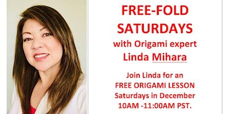 Free Fold Origami Saturday - Origami Snowflakes! tickets