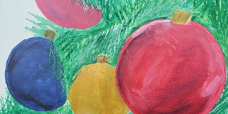 Free Virtual Painting Class - Christmas decorations tickets