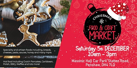 Monument Xmas Food & Craft Market - December tickets