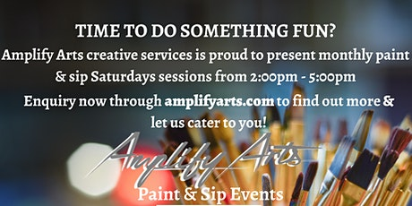 Amplify Arts Paint & Sip tickets