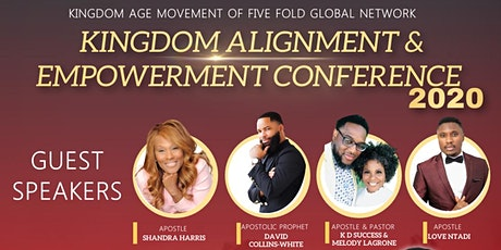 KINGDOM ALIGNMENT & EMPOWERMENT CONFERENCE 2020 tickets