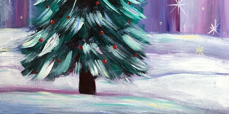 Online Painting Christmas Tree, All ages are welcome Kids or Adults tickets