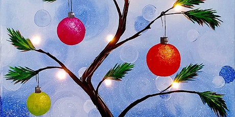 Online Painting Tree and Ornaments, All ages are welcome Kids or Adults tickets