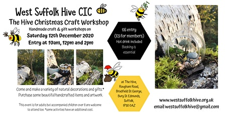 The Hive Christmas Craft Workshop tickets