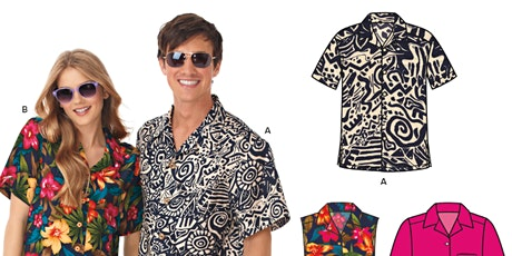 Make it Sew! Buttondown Shirt Classes+ tickets