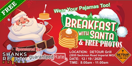 Breakfast with Santa | Presented by Shanks Realty Group tickets